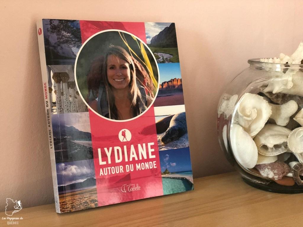 Le récit de voyage Lydiane autour du monde dans notre article 7 récits de voyage et livres de femmes inspirantes du Québec et d'ailleurs #livre #recitdevoyage #voyage #voyageuse #litterature #femme