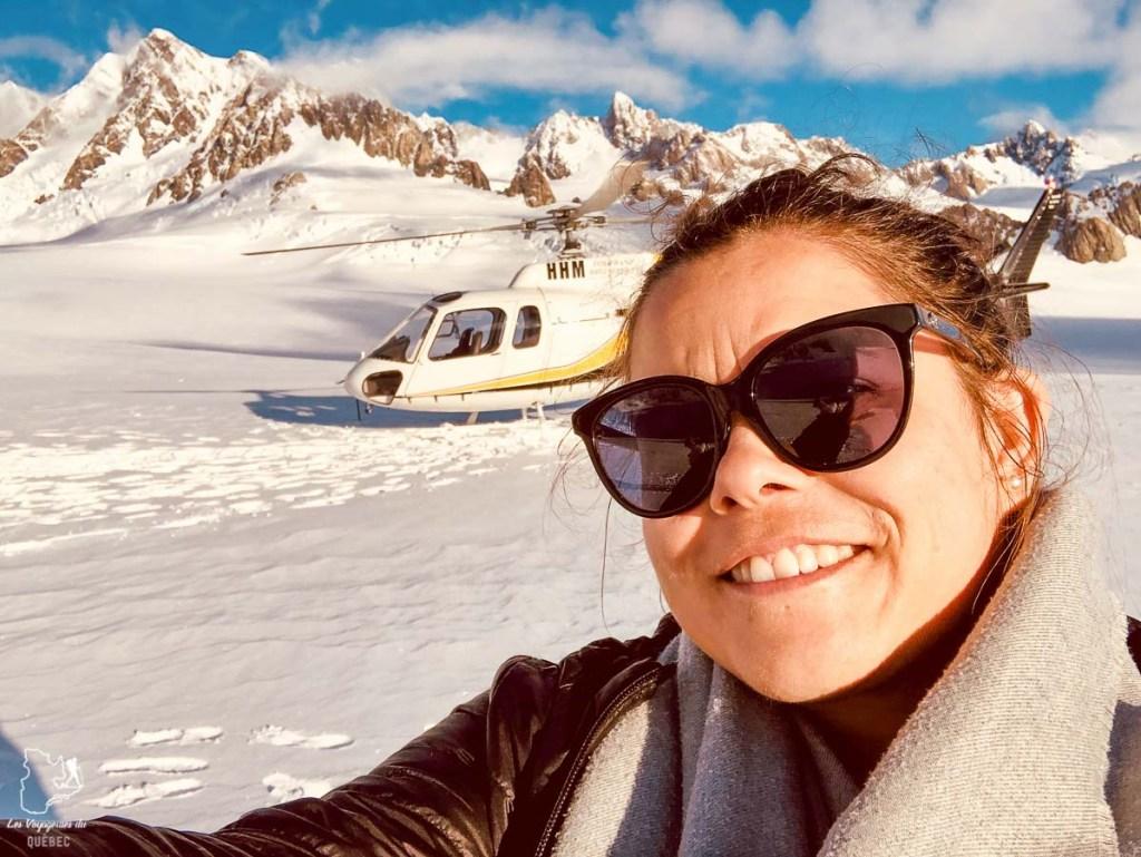 Glacier Franz Josef en hélicoptère, à faire lors d'un road trip sur l'île du Sud en Nouvelle-Zélande dans notre article Île du Sud en Nouvelle-Zélande : Incontournables et itinéraire détaillé de mon road trip #nouvellezelande #ile #sud #itineraire #voyage #oceanie #roadtrip