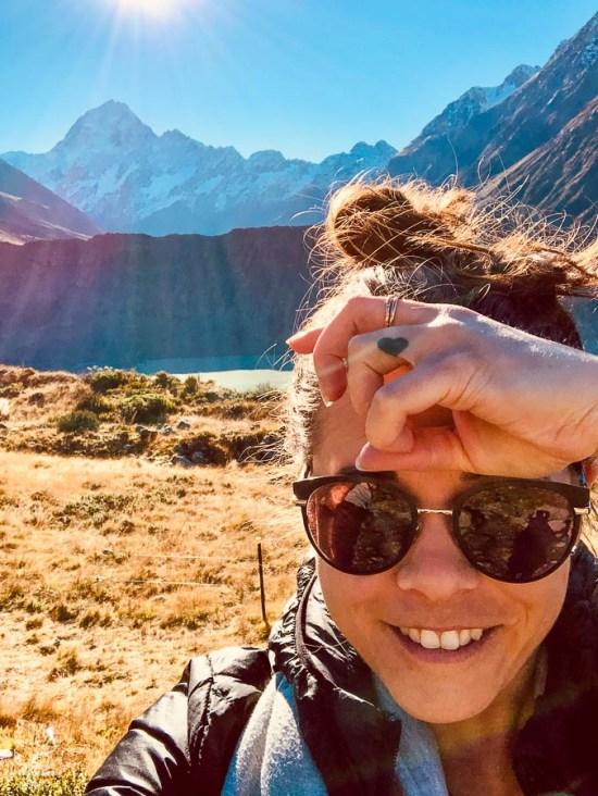 Mont Cook, un incontournable sur l'île du Sud en Nouvelle-Zélande dans notre article Île du Sud en Nouvelle-Zélande : Incontournables et itinéraire détaillé de mon road trip #nouvellezelande #ile #sud #itineraire #voyage #oceanie #roadtrip