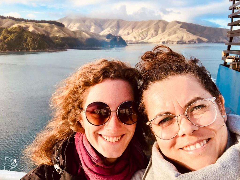 Ferry à Marlborough Sounds, un incontournable sur l'île du Sud en Nouvelle-Zélande dans notre article Île du Sud en Nouvelle-Zélande : Incontournables et itinéraire détaillé de mon road trip #nouvellezelande #ile #sud #itineraire #voyage #oceanie #roadtrip