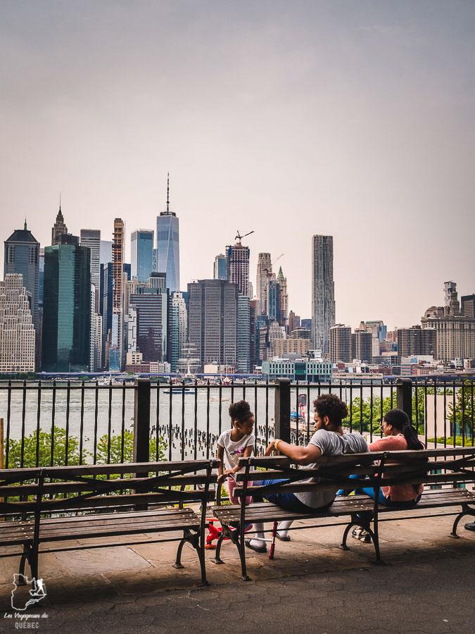 Points de vue de New York depuis la Brooklyn Heights Promenade dans notre article Les meilleurs points de vue de New York et endroits pour photographier la ville #newyork #usa #etatsunis #vue #panoramique #pointsdevue
