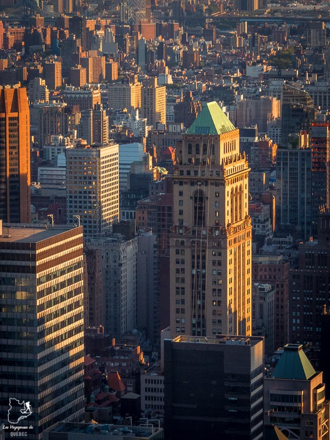 Plus belles vues de New York au Top of the Rock dans notre article Les meilleurs points de vue de New York et endroits pour photographier la ville #newyork #usa #etatsunis #vue #panoramique #pointsdevue