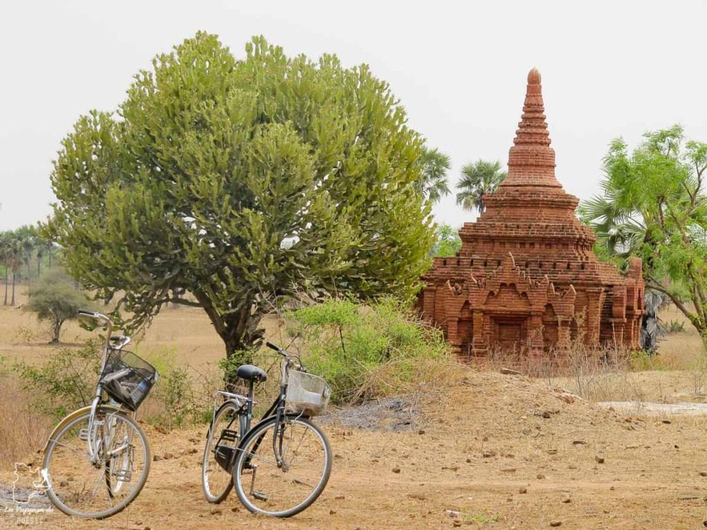 Que faire au Myanmar? Visiter Bagan à vélo dans notre article Voyage au Myanmar : Mes expériences et lieux à visiter au Myanmar #myanmar #birmanie #asie #voyage #itineraire #bagan
