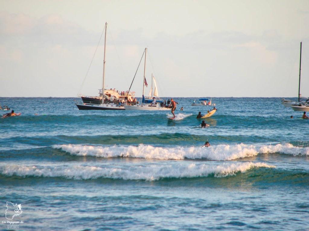 Le surf à Oahu : Mes plus beaux spots de surf sur cette île d'Hawaii #surf #oahu #waikiki #usa #voyage #spotdesurf