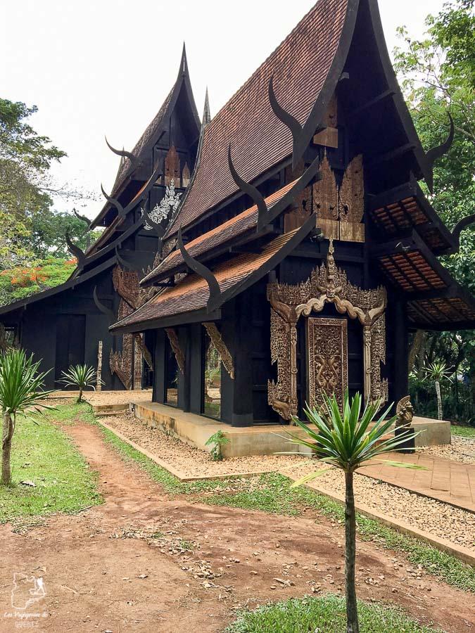 La Black House de Chiang Rai, à visiter dans le nord de la Thaïlande dans notre article Visiter le nord de la Thaïlande hors des sentiers battus #thailande #nord #horsdessentiersbattus #asie #asiedusudest #voyage