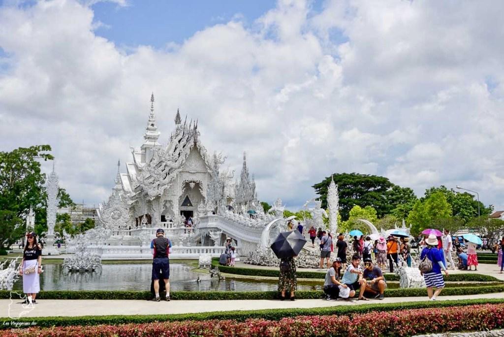 White temple de Chiang Rai, à visiter dans le nord de la Thaïlande dans notre article Visiter le nord de la Thaïlande hors des sentiers battus #thailande #nord #horsdessentiersbattus #asie #asiedusudest #voyage