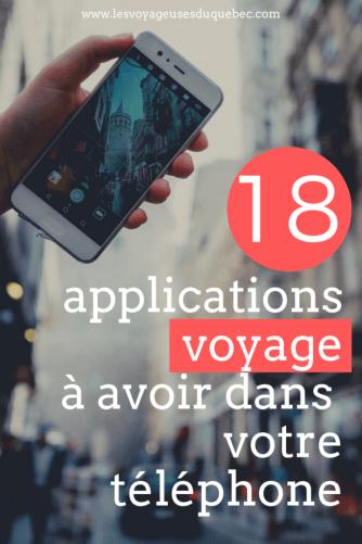 18 applications voyage pour vous aider à voyager