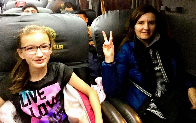 Le bus, un transport au Pérou économique, mais tout de même luxueux dans notre article Comment se déplacer au Pérou : Petit guide pratique des transports au Pérou #perou #transport #sedeplacer #ameriquedusud #voyage