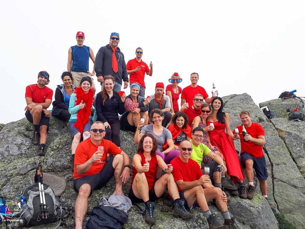 Adirondacks 46ers au sommet du Mont Haystack dans les Adirondacks dans notre article Devenir un Adirondack 46er : Faire l'ascension des 46 plus hautes montagnes des Adirondacks #adirondack #adirondacks #46ers #46er #ADK46er #montagnes #usa #randonnee