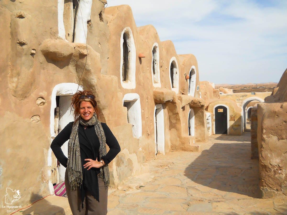 Ksar Hedada, décor de Tatooine dans Star wars dans le désert du Sahara dans notre article Déserts du monde : L'expérience mystique du Sahara, Thar et Wadi Rum #deserts #desert #sahara #thar #wadirum #voyage