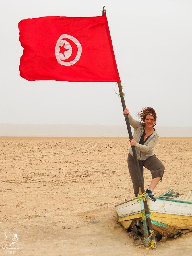 Au lac salé de Chott el-Jerid dans le désert du Sahara dans notre article Déserts du monde : L'expérience mystique du Sahara, Thar et Wadi Rum #deserts #desert #sahara #thar #wadirum #voyage
