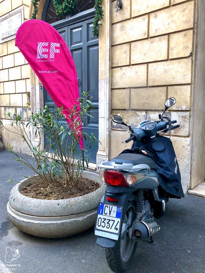 EF-Roma, une bonne école pour un séjour linguistique à Rome dans notre article Séjour linguistique en Italie : Mon expérience d'immersion et de cours d'italien à Rome #italie #sejourlinguistique #immersion #coursitalien #rome