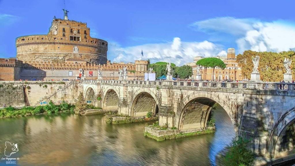 Castello San Angelo à Rome dans notre article Visiter Rome en 4 jours : Que faire à Rome, la capitale de l'Italie #rome #italie #europe #voyage
