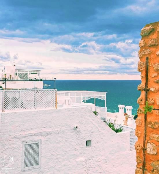 Le vieux Hammamet en Tunisie dans notre article Visiter la Tunisie : Comment faire un voyage en Tunisie autrement #tunisie #afrique #voyage #hammamet