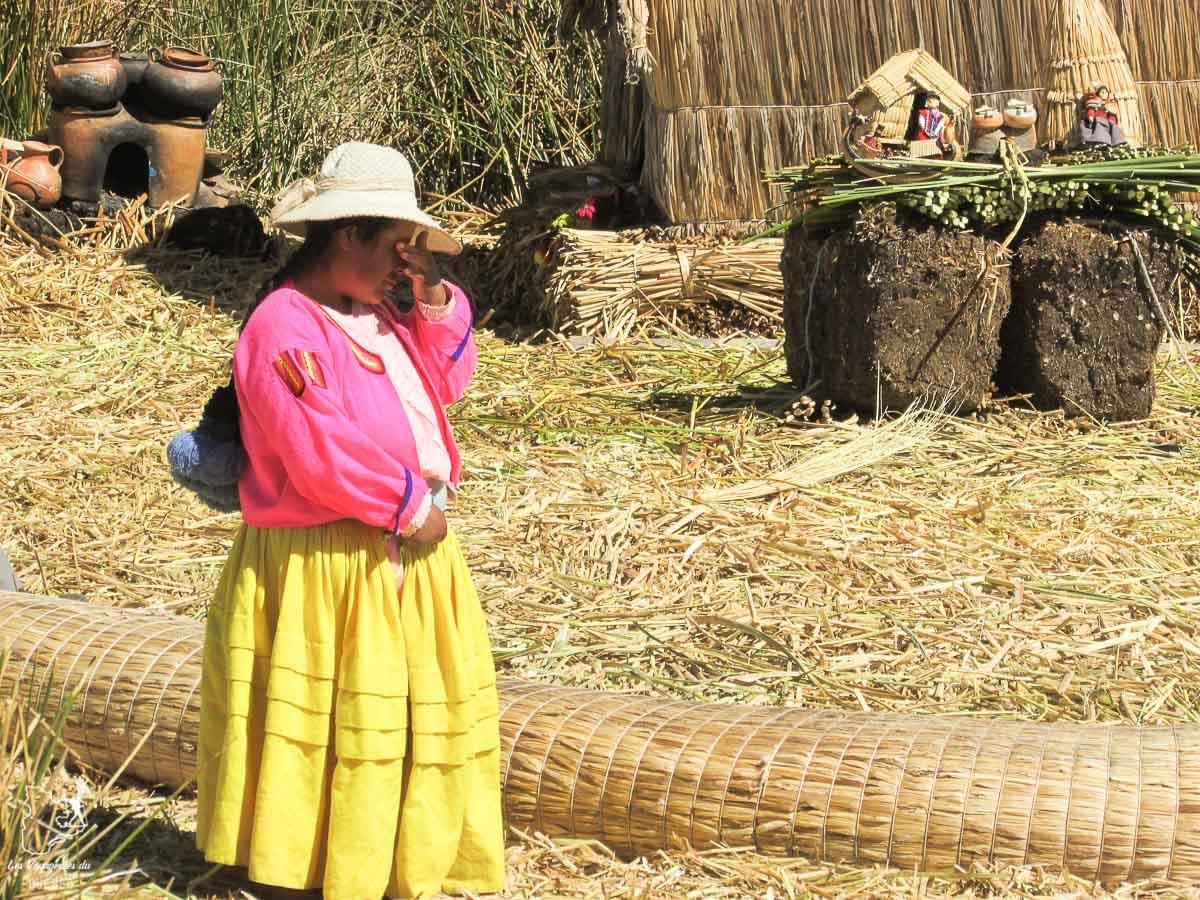 Les îles du lac Titicaca sont faites de roseaux dans notre article Le lac Titicaca au Pérou : Mon expérience sur 3 îles et dans une famille locale #perou #lactiticaca #titicaca #voyage #ameriquedusud