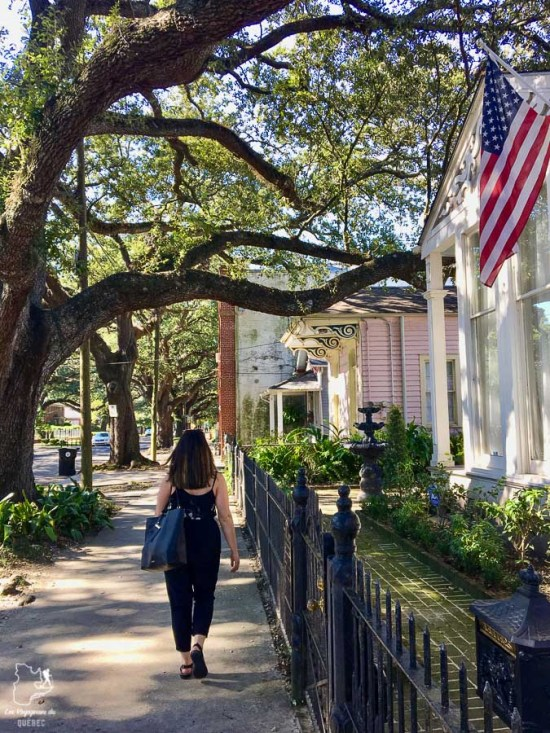 Quartier Garden District en Nouvelle-Orléans dans notre article 5 incontournables de la Nouvelle-Orléans à visiter en 3 jours #nouvelleorleans #louisiane #usa #etatsunis #voyage #amerique