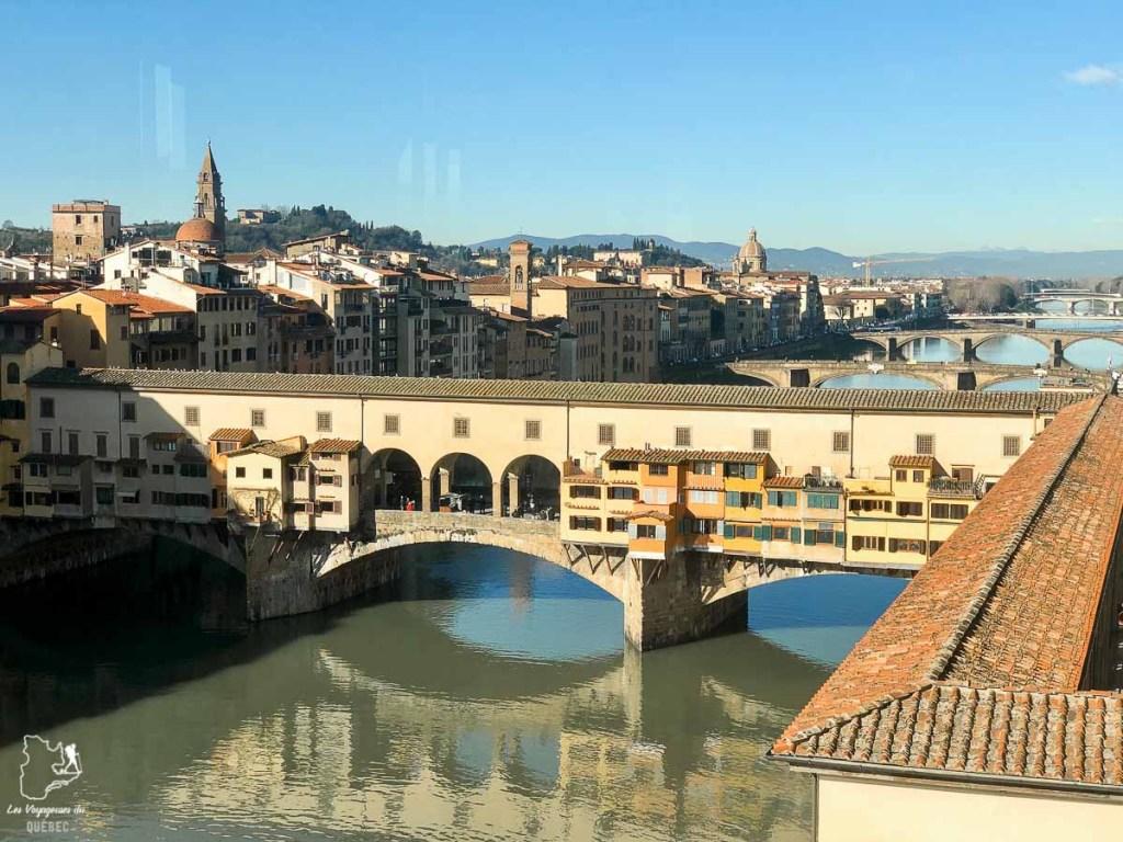 Ponte de Vecchio à Florence en Toscane dans notre article Visiter la Toscane en Italie : Mes incontournables de que faire et voir en 10 jours #toscane #italie #europe #voyage #itineraire #florence