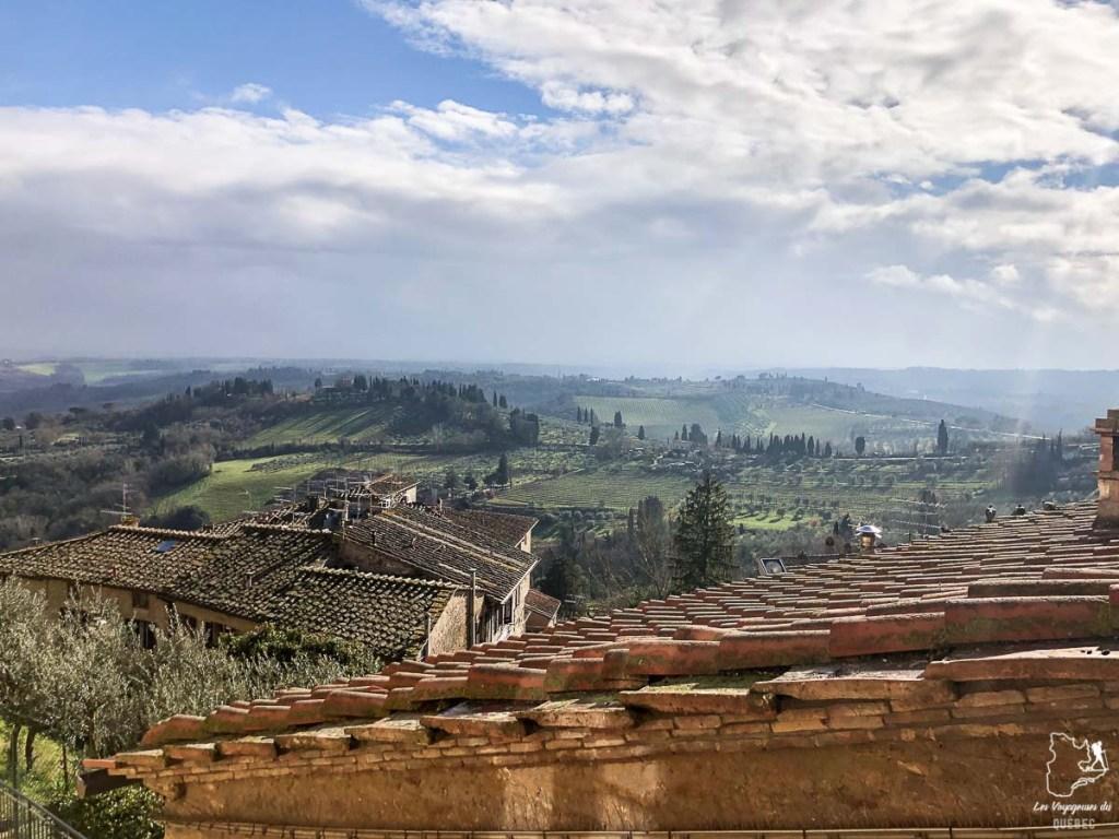 San Gimignano, la ville médiévale de la Toscane, dans notre article Visiter la Toscane en Italie : Mes incontournables de que faire et voir en 10 jours #toscane #italie #europe #voyage #itineraire #sangiminiano