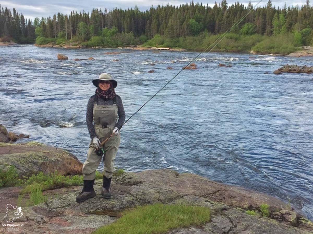La rivière au saumon de Port-Cartier sur la Côte-Nord dans notre article Visiter la Côte-Nord au Québec : mes coups de cœur tout en nature #cotenord #quebec #canada #nature