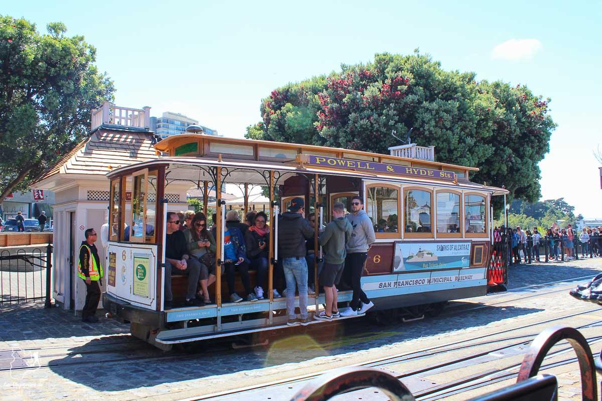 Le Cable Car de San Francisco dans notre article Villes de la Californie : une semaine à San Francisco, Los Angeles et San Diego #californie #usa #etatsunis #voyage #losangeles #sanfrancisco #sandiego