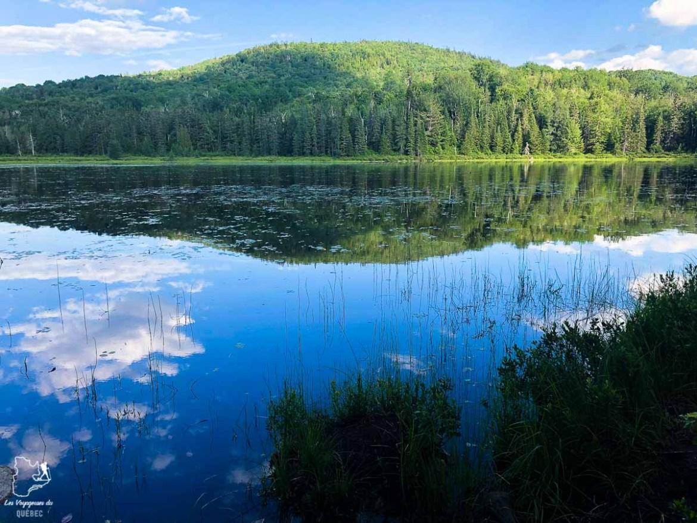 Lac Pelletier sur le Sentier de la Matawinie dans notre article Randonnée dans Lanaudière : 100 km sur le sentier national (sentier de la Matawinie) #randonnee #lanaudiere #matawinie #sentiernational #quebec #canada
