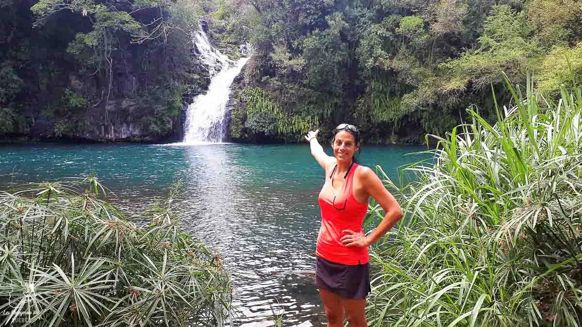 Chute à la Réunion après le trek organisé dans notre article Voyage de randonnée : Tout savoir pour planifier son trek organisé avec une agence #randonnee #trekking #agence #voyage