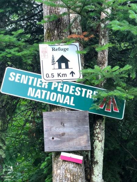Randonnée sur le Sentier national dans notre article Randonnée dans Lanaudière : 100 km sur le sentier national (sentier de la Matawinie) #randonnee #lanaudiere #matawinie #sentiernational #quebec #canada