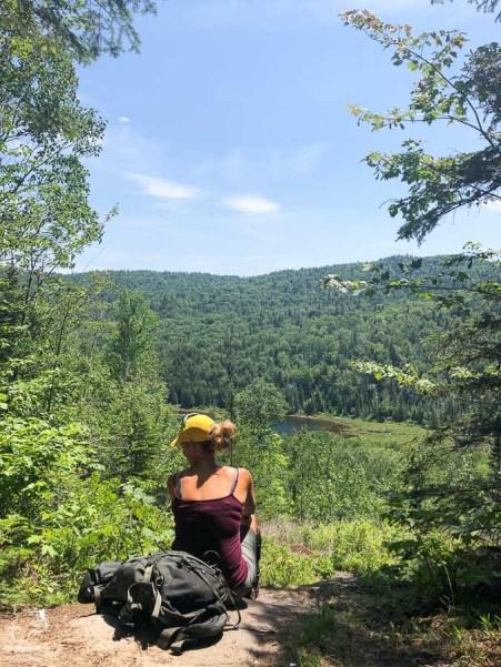 Randonnée sur le Sentier de la Matawinie dans notre article Randonnée dans Lanaudière : 100 km sur le sentier national (sentier de la Matawinie) #randonnee #lanaudiere #matawinie #sentiernational #quebec #canada