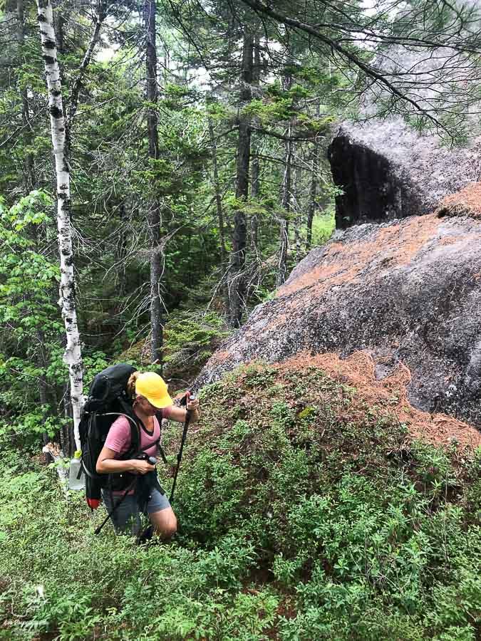 Randonnée sur le Sentier de la Matawinie dans Lanaudière dans notre article Randonnée dans Lanaudière : 100 km sur le sentier national (sentier de la Matawinie) #randonnee #lanaudiere #matawinie #sentiernational #quebec #canada