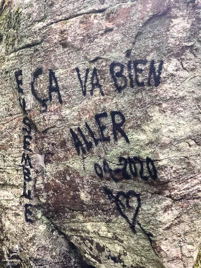 Petit encouragement pour cette dernière journée de randonnée dans Lanaudière dans notre article Randonnée dans Lanaudière : 100 km sur le sentier national (sentier de la Matawinie) #randonnee #lanaudiere #matawinie #sentiernational #quebec #canada