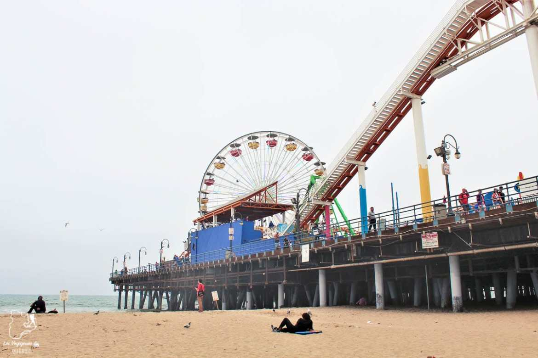 La plage de Santa Monica à Los Angeles dans notre article Villes de la Californie : une semaine à San Francisco, Los Angeles et San Diego #californie #usa #etatsunis #voyage #losangeles #sanfrancisco #sandiego