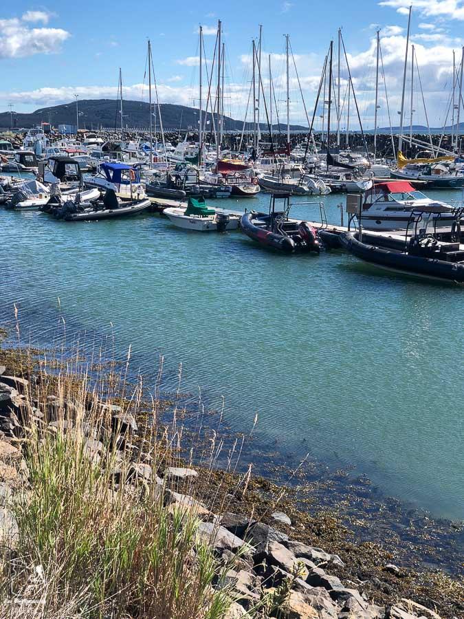 Marina de Sept-Îles dans notre article Road trip sur la Côte-Nord au Québec : Itinéraire voyage de 10 jours en van #cotenord #quebec #bonjourquebec #canada #roadtrip #voyage