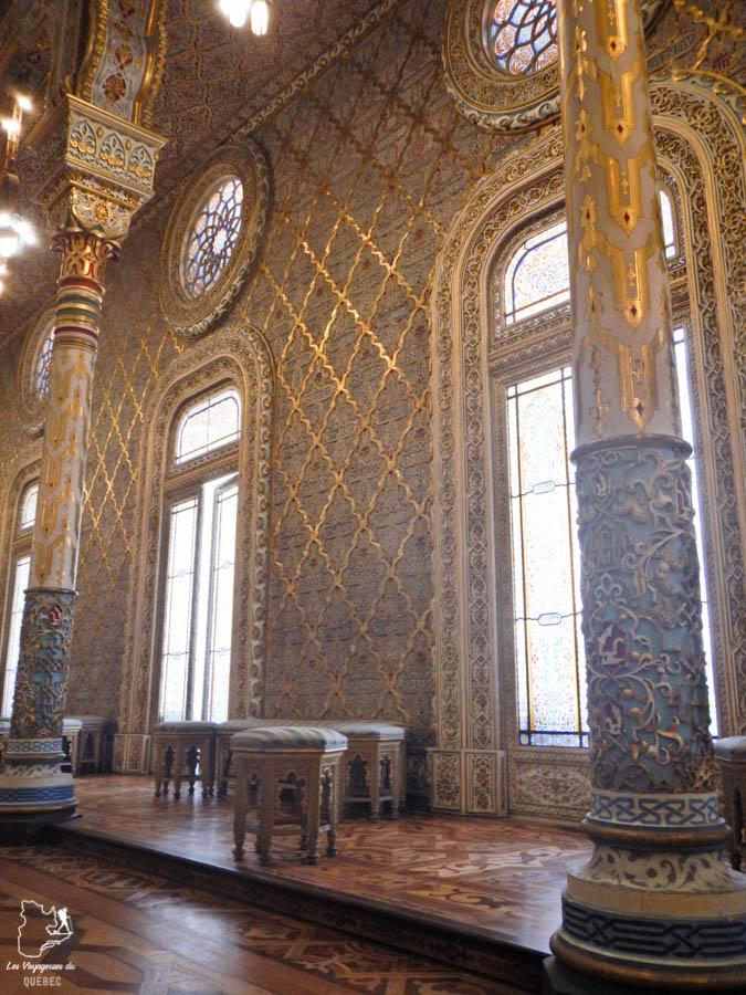 Palacio da Bolsa à Porto dans notre article Visiter Porto au Portugal et la Vallée du Douro : Que faire en 7 incontournables #porto #valleedudouro #portugal #europe #voyage