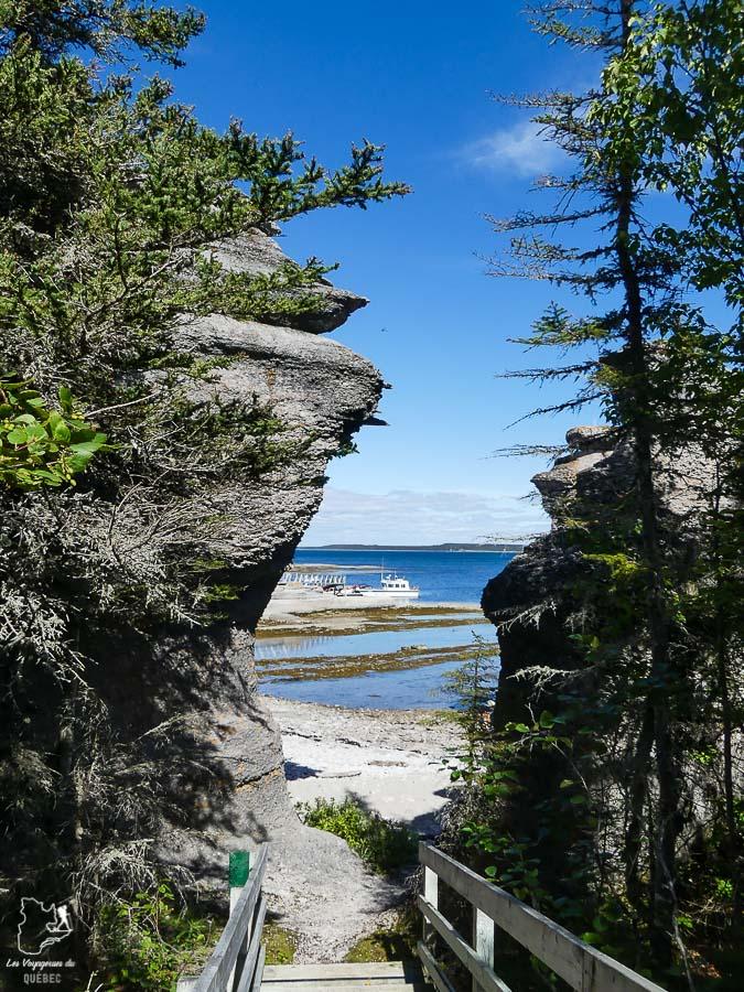 Randonnée sur l'Île Niapiskau l'Archipel-de-Mingan dans notre article Road trip sur la Côte-Nord au Québec : Itinéraire voyage de 10 jours en van #cotenord #quebec #bonjourquebec #canada #roadtrip #voyage