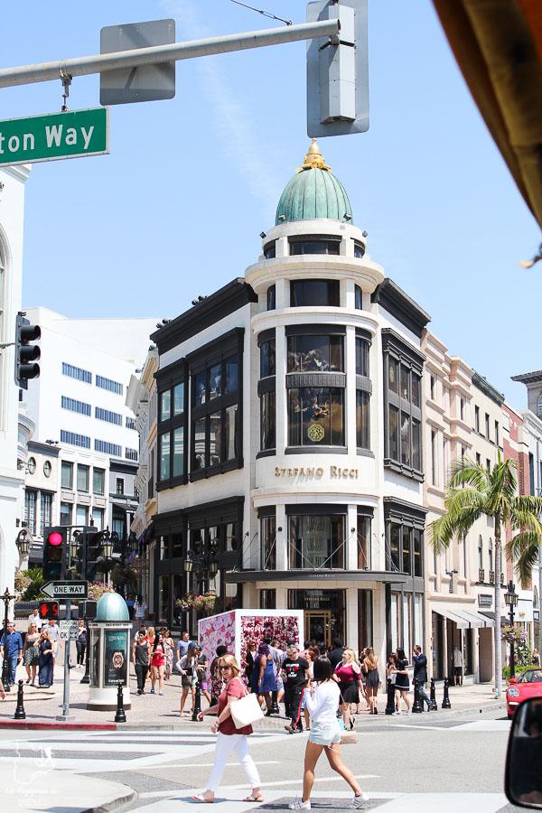 Rodeo drive à Los Angeles dans notre article Visiter Los Angeles aux USA : Que voir et que faire à Los Angeles en 3 jours #losangeles #californie #usa #etatsunis #voyage