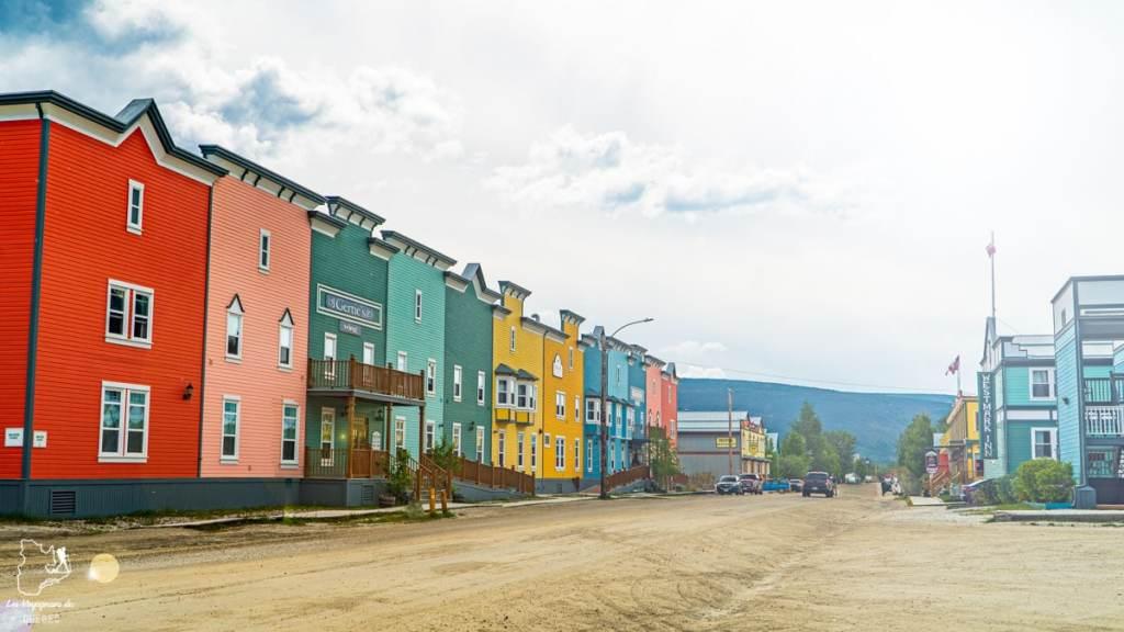 Visite de Dawson City lors d'un voyage au Yukon au Canada dans notre article Mon road trip au Yukon au Canada : 12 jours de liberté en truck camper au gré du vent #yukon #canada #roadtrip #voyage