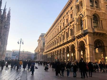 Centre-ville de Milan dans notre article Visiter Milan en Italie : 8 incontournables de que voir et que faire en 3 jours #Milan #Italie #Europe #voyage