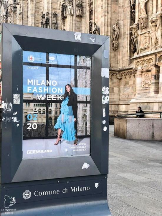 Fashion week de Milan dans notre article Visiter Milan en Italie : 8 incontournables de que voir et que faire en 3 jours #Milan #Italie #Europe #voyage
