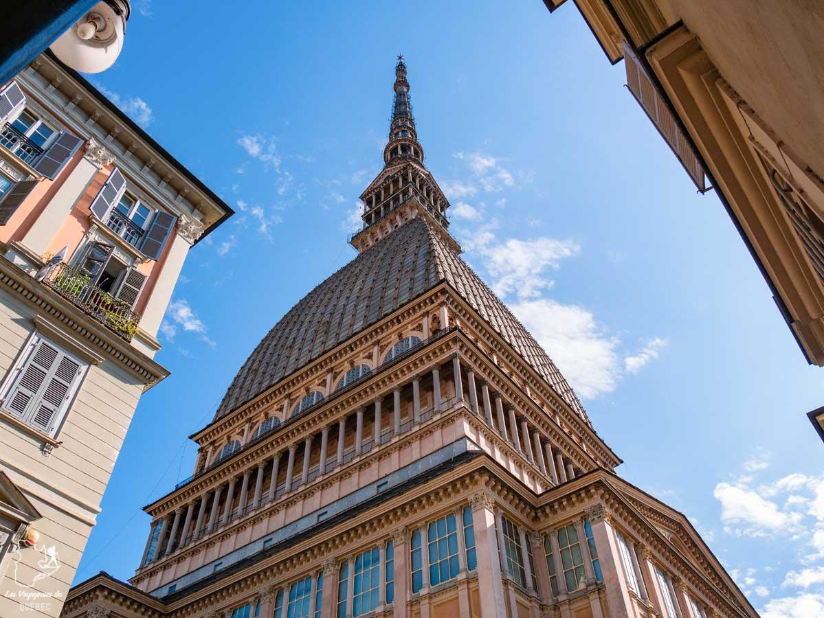 Mole Antonelliana, l'emblème de Turin dans notre article Visiter Turin en 1 jour : Que voir et que faire à Turin en Italie #turin #italie #europe #voyage
