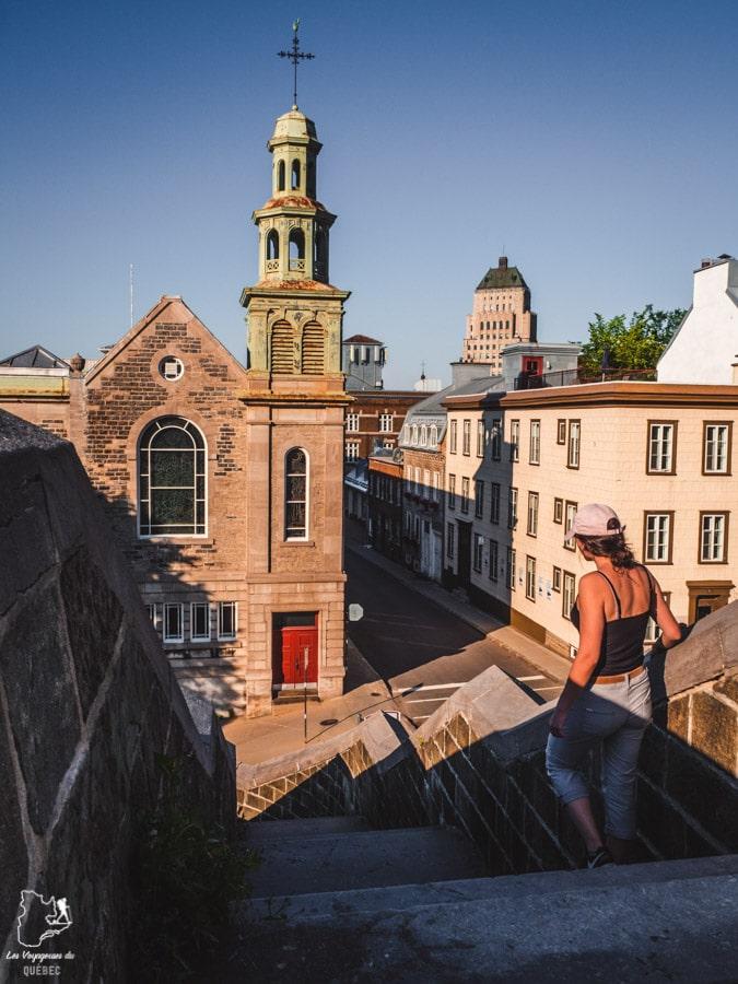 Visiter Québec et ses fortifications dans notre article Visiter Québec à travers ses plus beaux points de vue : 12 endroits où photographier la ville de Québec