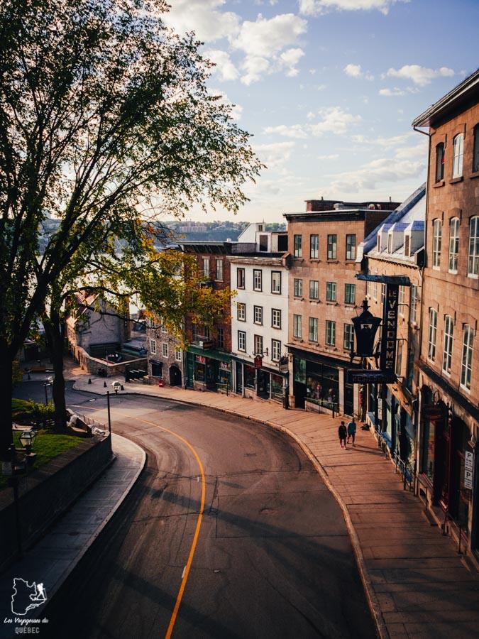 Visiter Québec et ses fortifications dans notre article Visiter Québec à travers ses plus beaux points de vue : 12 endroits où photographier la ville de Québec #quebec #villedequebec #canada #photographie