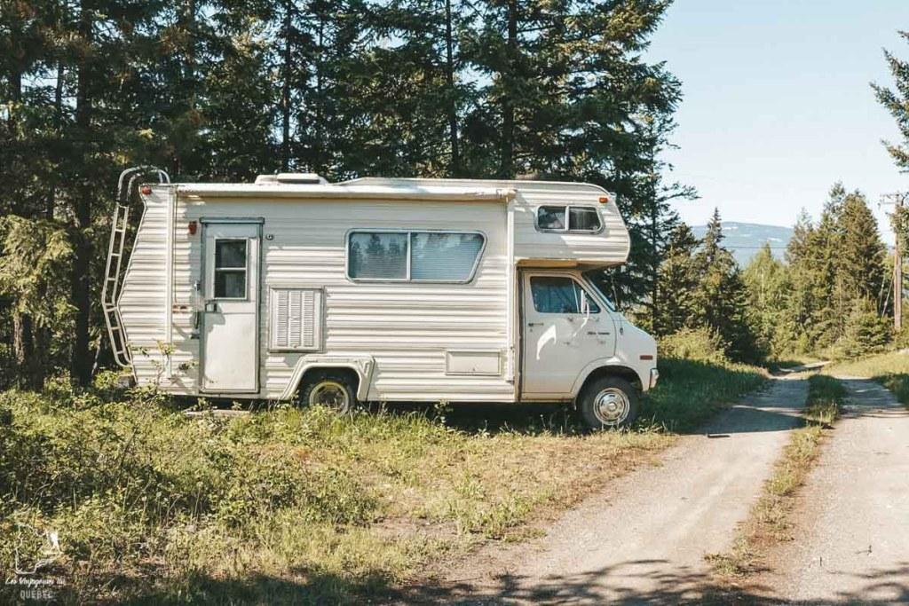 Dormir dans un RV en Couchsurfing au Canada dans notre article Couchsurfing au Canada : Mon expérience en Couchsurfing à travers le Canada #couchsurfing #canada #voyage #roadtrip