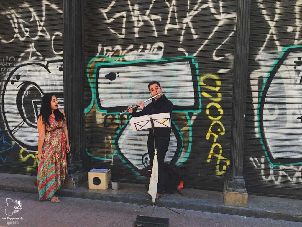 Musiciens de rue à Séville dans notre article Voyage au sud de l'Espagne : Itinéraire de 2 semaines à visiter en mode backpack #espagne #sudespagne #malaga #seville #grenade #europe #voyage #itineraire #backpack