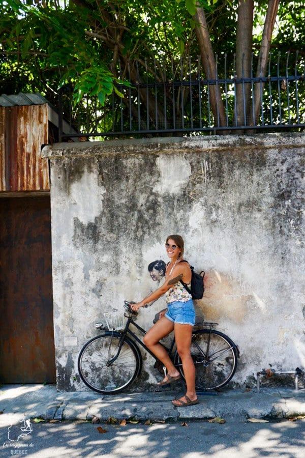 Street art à Georgetown en Malaisie dans notre article Georgetown en Malaisie : Visiter Georgetown en 5 incontournables à ne pas manquer #georgetown #malaisie #asie #voyage
