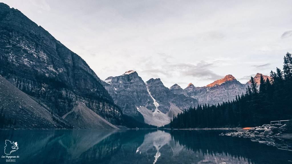 Lake Moraine en Alberta dans notre article Voyager au Canada en temps de pandémie : Mon voyage dans l'Ouest canadien #canada #ouestcanadien #pandemie #covid19 #voyage