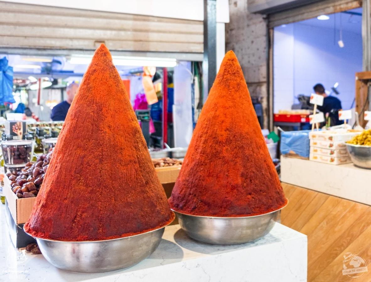 Carmel Market de Tel Aviv en Israël dans notre article Noël en Terre sainte : 9 jours à visiter Israël et la Palestine durant les fêtes #noel #terresainte #israel #palestine