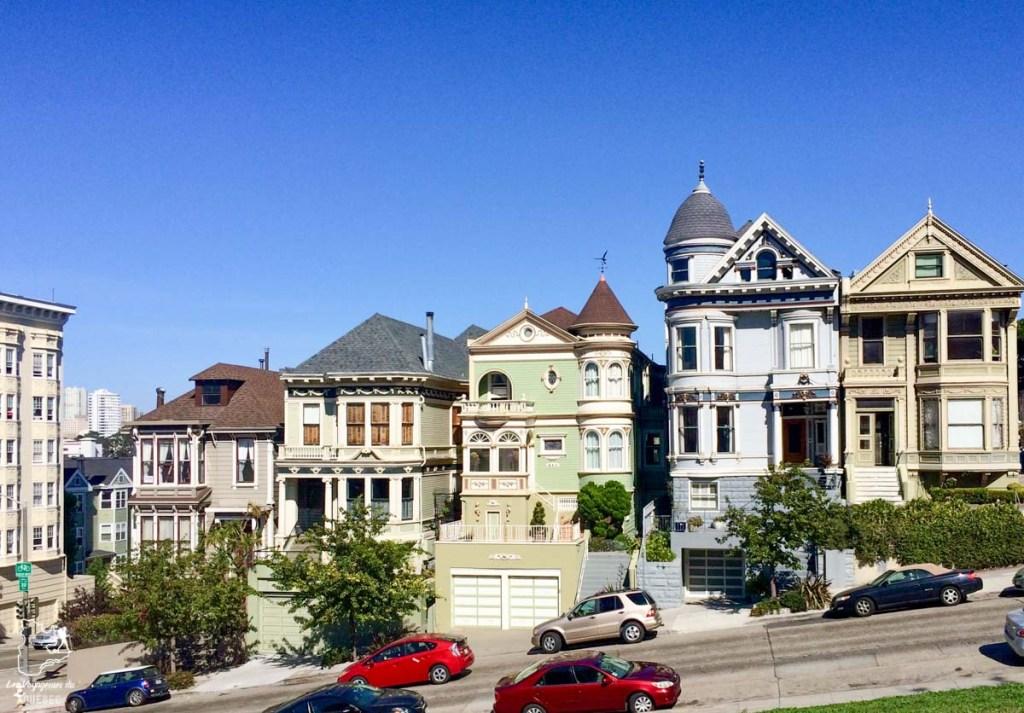 Maisons de Lower-Haight à San Francisco dans notre article Que voir à San Francisco aux USA : ma découverte de la ville en 7 jours #sanfrancisco #californie #usa #etatsunis #voyage