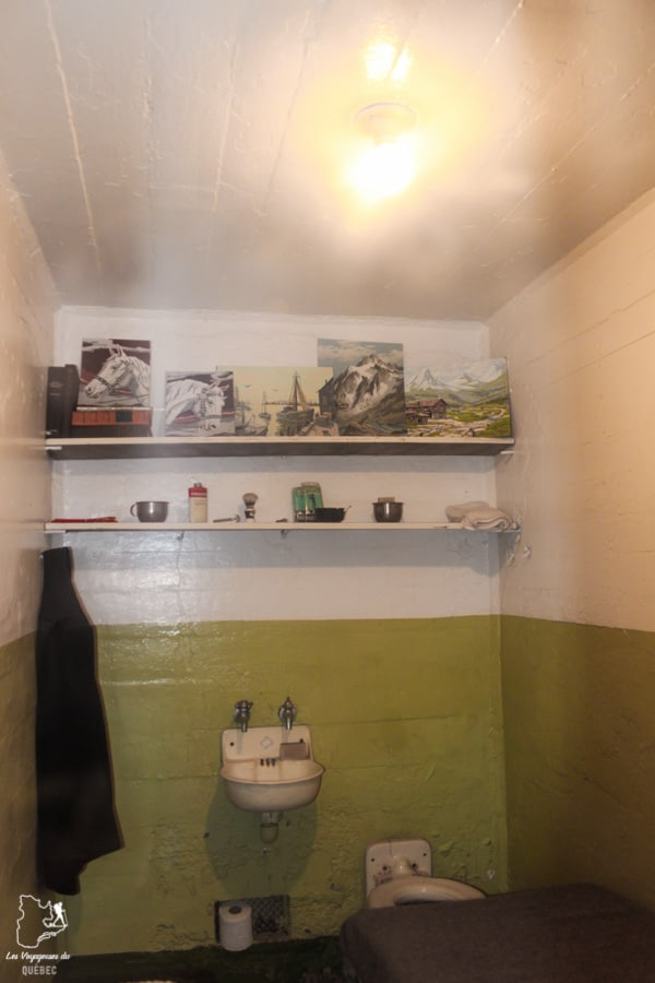 Cellule de la prison d'Alcatraz à San Francisco dans notre article Visiter Alcatraz : Tout savoir sur la visite de cette prison de San Francisco #alcatraz #ile #sanfrancisco #californie #usa #etatsunis #prison