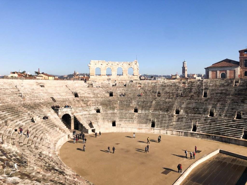 L'arène romaine de Vérone dans notre article Visiter Vérone en Italie : mes incontournables de la ville de Roméo et Juliette #verone #italie #venetie #voyage #europe