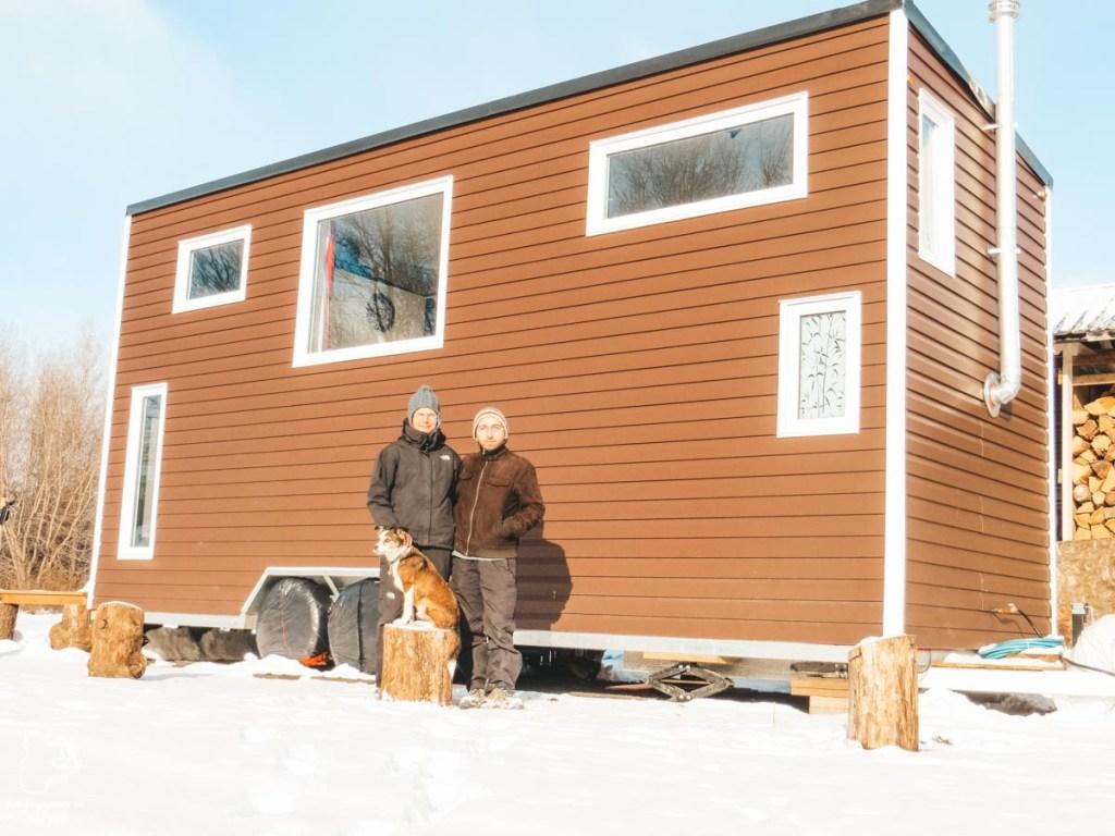 Vivre avec les locaux dans une micro-maison près d'Ottawa dans notre article Visiter le Canada autrement : Ma traversée du Canada hors des sentiers battus #canada #roadtrip